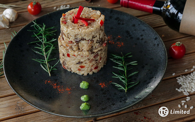 rižoto sa biftekom