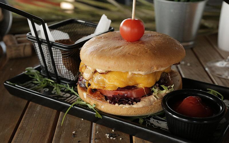 T6 burger